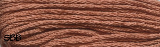 Valdani Solid Floss0862 Faded Rust Medium