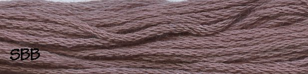 Valdani Solid Floss8102 Withered Mulberry Medium