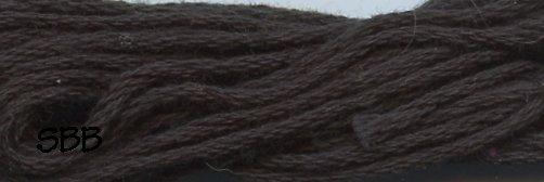 Valdani Solid Floss8113 Black Dark