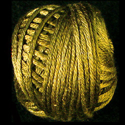 Valdani Variegated Silk S153 Golden Moss