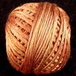 Valdani Variegated Silk S506 Washed Cinnamon