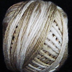 Valdani Variegated Silk S514 Wheat Husk