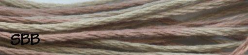 Weeks Dye Works Floss1132 Saltwater Taffy