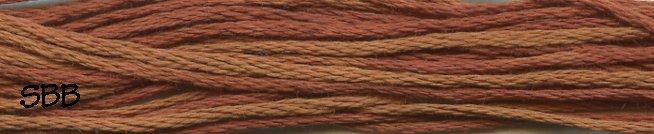 Weeks Dye Works Floss1228a Cinnamon Twist