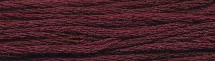 Weeks Dye Works Floss1339 Bordeaux