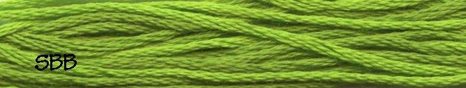 Weeks Dye Works Floss2204a Paris Green