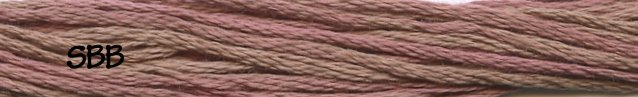 Weeks Dye Works Floss2285 Pink Sand