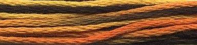 Weeks Dye Works Floss 4101 Trick Or Treat