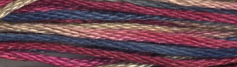 Weeks Dye Works Floss 4133 Old Glory