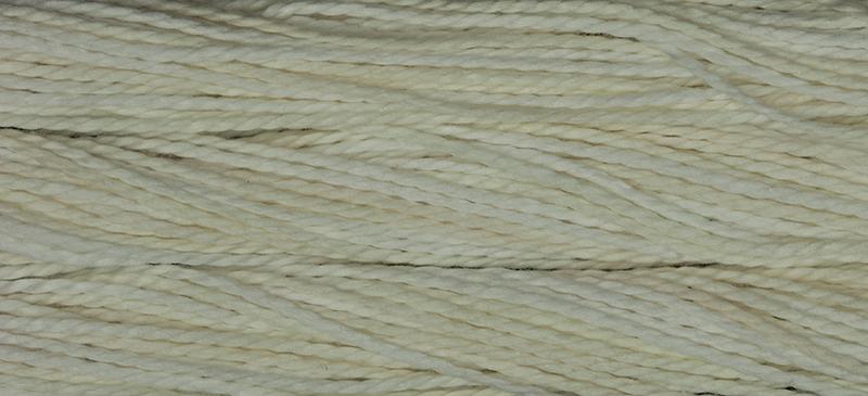 Weeks Dye Works Pearl Cotton Size 51091 Whitewash