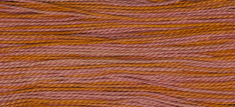 Weeks Dye Works Pearl Cotton Size 52246 Sunset