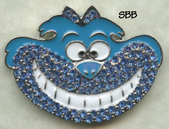 Accoutrement Designs Mag Friends Cheshire Cat ~ Blue