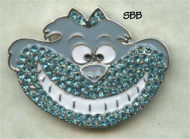 Accoutrement Designs Mag Friends Cheshire Cat ~ Turquoise