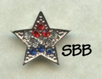 Accoutrement Designs Mag Friends Patriotic Star