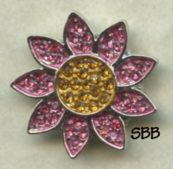 Accoutrement Designs Mag Friends Pink Daisy