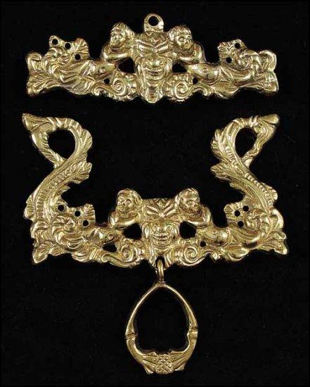 Brass Bellpulls#7126 ~ 4 3/4