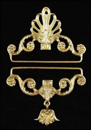 Brass Bellpulls#7139 ~ 4 1/4