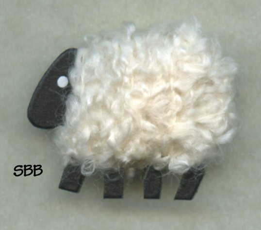 Camus Needle Magnets White Sheep