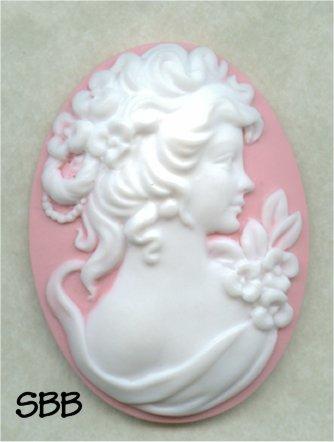 Clearance Kelmscott Designs Needle Minder Pink Lady