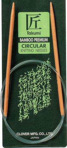 Clover Circular Knitting Needles CL3016248 Takumi Bamboo 24