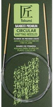 Clover Circular Knitting Needles CL3016298 Takumi Bamboo 29