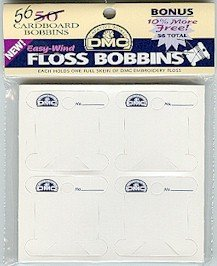 DMC Cardboard Floss Bobbins