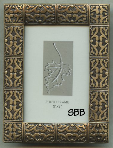 Decorative Frames #50031 Antique Brass 2