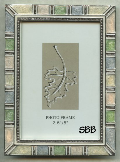 Decorative Frames #50034 Antique Silver 3.5