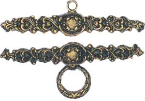 Eva Rosenstand Bellpulls7323312 Antique Brass475