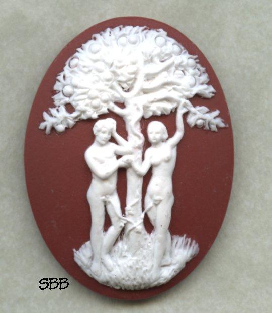 Kelmscott Designs Needle Minder Adam & Eve