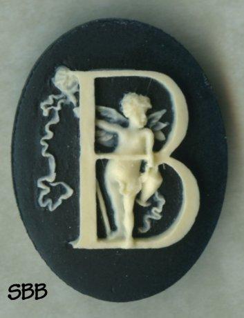 Kelmscott Designs Needle Minder Alphabet Angel B