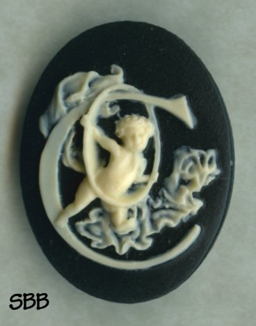 Kelmscott Designs Needle Minder Alphabet Angel C