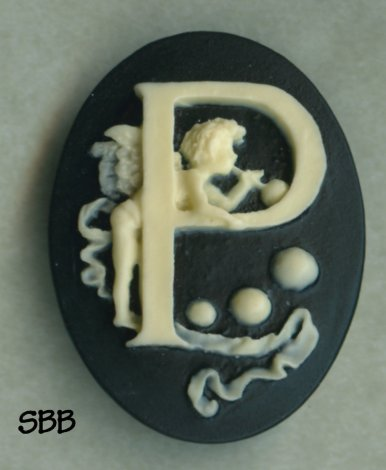 Kelmscott Designs Needle Minder Alphabet Angel P