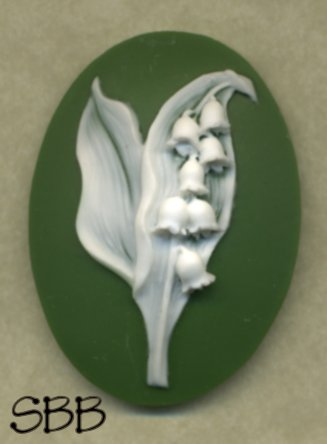 Kelmscott Designs Needle Minder Lily Of The Valley
