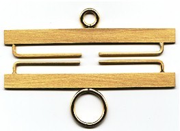Lene Boje Bellpulls34311 Brass Satin Finish 4 3/8