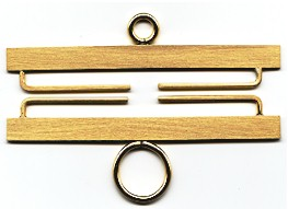 Lene Boje Bellpulls3436 Brass Satin Finish 2 3/8