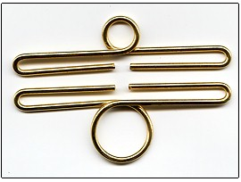 Lene Boje Bellpulls34911 Brass Polished Finish 4 3/8