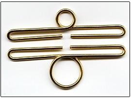 Lene Boje Bellpulls3494 Brass Polished Finish 1 1/2