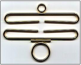 Lene Boje Bellpulls35314 Brass Polished Finish 5 1/2