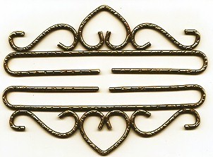 Lene Boje Bellpulls37714 Brass Hammered Antique Finish 5 1/2