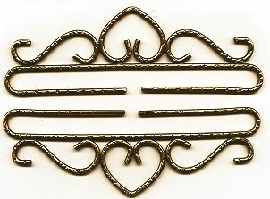 Lene Boje Bellpulls37724 Brass Hammered Antique Finish 9 1/2