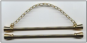 Lene Boje Bellpulls39716 Brass Satin Finish 6 1/4