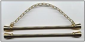 Lene Boje Bellpulls39724 Brass Satin Finish 9 1/2