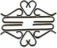 Lene Boje Bellpulls512412 Iron With Pewter Finish 4 3/4