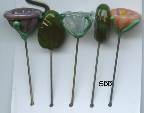 The Glasshopper Stitch Count Bouquet J