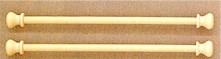 Unfinished Wood Bellpulls512914 Pair 5 1/2
