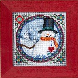 Jim Shore Kits JS149102 2009 Southern Snowman