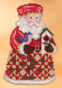 Jim Shore Kits JS203104 2013 Cozy Christmas Santa