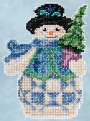 Jim Shore Kits JS205101 Evergreen Snowman