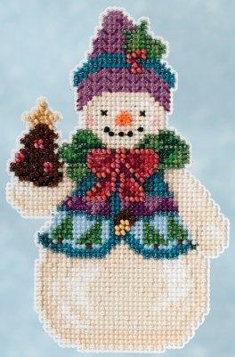 Jim Shore Kits JS205102 Pinecone Snowman